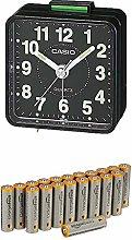 Casio Collection Wake Up Timer Black Alarm Clock