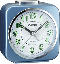 Casio TQ143-2 Alarm Clock with Light and Snooze