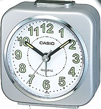 Casio TQ143-8 Alarm Clock with Light and Snooze