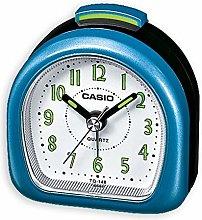Casio TQ148/2 Travel Alarm Clock-Metallic