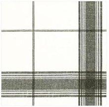 Caspari - Belgian Linen Black Paper Linen Napkins