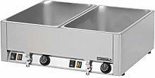 Casselin CBMDV Water Bath Stainless Steel Colour