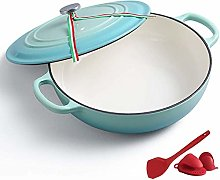 Casserole Round Ceramic Enamel Dutch Ovens Pot,