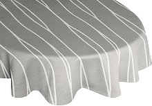Cassian Tablecloth Wade Logan Colour: Light grey