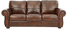 Cassina Italian Leather 3 Seater Sofa