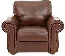 Cassina Italian Leather Armchair