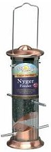 Cast Copper Plated Nyger Feeder 20cm - 11576 -