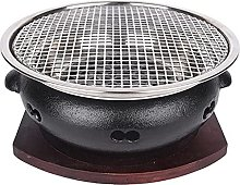 Cast Iron Charcoal Barbecue Grills Korean Style