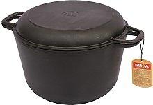 Cast Iron Cooking Pot with Lid 3, 4, 6 L Ø20, 22,