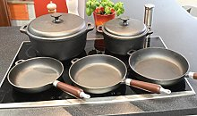 Cast Iron Cookware Set Siebenteilig (Kazan)