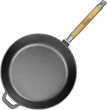 Cast Iron Deep Skillet/Frying Pan Healthy Cooking