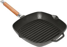 Cast Iron Grill Pan 28 cm Removable Handle