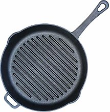 Cast Iron Grill Pan No Coating Induction BIOL (28