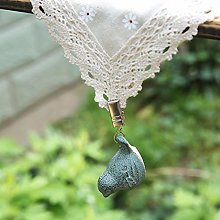 Cast Iron Heavyweight Tablecloth Weights,Vintage