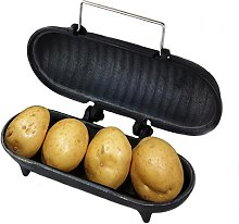 Cast Iron Large Baked Potato Cooker