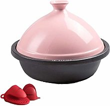 Cast Iron Tajine Cooking Pot 30Cm for Cooking and