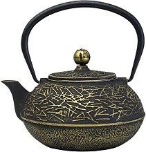 Cast Iron Tea Kettle. Fireplace humidifier Wood
