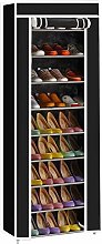 CASTAIN Shoes Rack Storage Cabinet, DIY Non-Woven