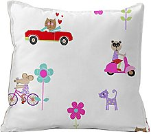 Castilla Textile Shopping Cars – Cushion,