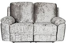 Castille Fabric 2 Seater Manual Recliner Sofa