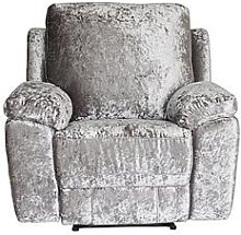 Castille Fabric Manual Recliner Armchair