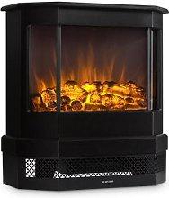 Castillo Electric Fireplace Halogen Flame