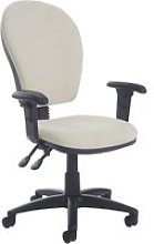 Castle High Back Operator Chair With Adjustable