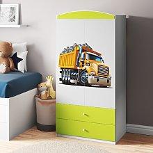 Caswell 2 Door Wardrobe Zipcode Design Colour: