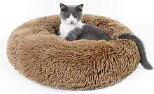 Cat Basket, Cushion Dog Cat Round Plush, Extra