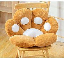 Cat Bear Paw Plush Seat Cushion,Indoor Floor