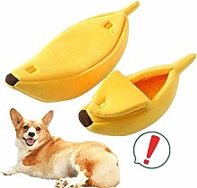 Cat Bed Banana Shape Dog Basket Bed Small Dog Bed
