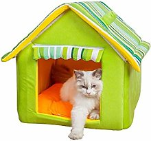 Cat Cave Kitten Bed Dog Sofa Bed Foldable Cat Bed