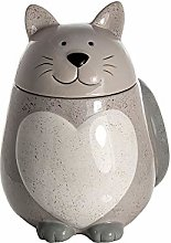 Cat Cookie Jar Biscuit Barrel Large Kitchen