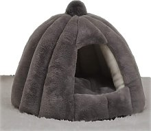 Cat Dog Pet Tent Cave Bed, Washable Ultra Soft