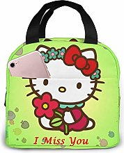 Cat I Miss You Images Lunch Bag Cooler Tote Box
