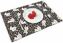 Cat Insulation Heat Resistant Table Mats Easy To
