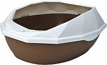 Cat Litter Box Pan Semi-closed Cat Litter Box