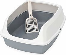 Cat Litter Box Semi-Enclosed Cat Toilet