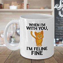 Cat Lover Gift for Husband Wife Boyfriend
