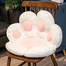 Cat Paw Shape Lazy Sofa Office Chair Cushion,Back