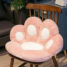 Cat Paw Shape Lazy Sofa Office Chair Cushion,Long