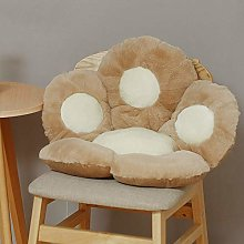 Cat Paw Shape Lazy Sofa Office Seat Cushion,Cat
