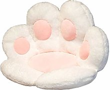 Cat Paw Shape Lazy Sofa Office Seat Cushion,Plush