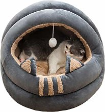 Cat Small Dog Cosy Bed Pets Igloo Bed Hideout