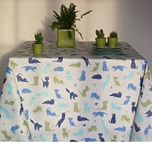 Cat Tablecloth Fleur De Soleil