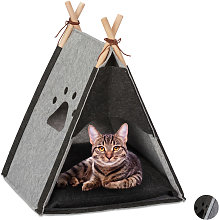 Cat Tent, Pet Teepee for Felines & Little Dogs,