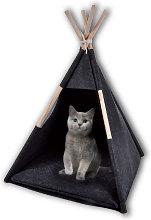 Cat tent, pet tent, black