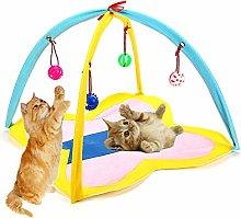 Cat Toys Kitten Toys Cat Play Mat Cat Folding Mat