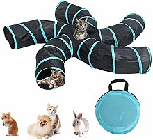 Cat Tunnel Toy 5 Way, Cat Toys Pet Tunnel Cat