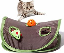 Cat Tunnel Toy, Pet Cat Play Toys Mice